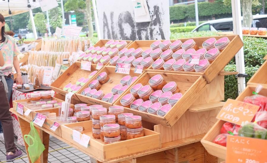 紀州梅香:青山ファーマーズマーケット