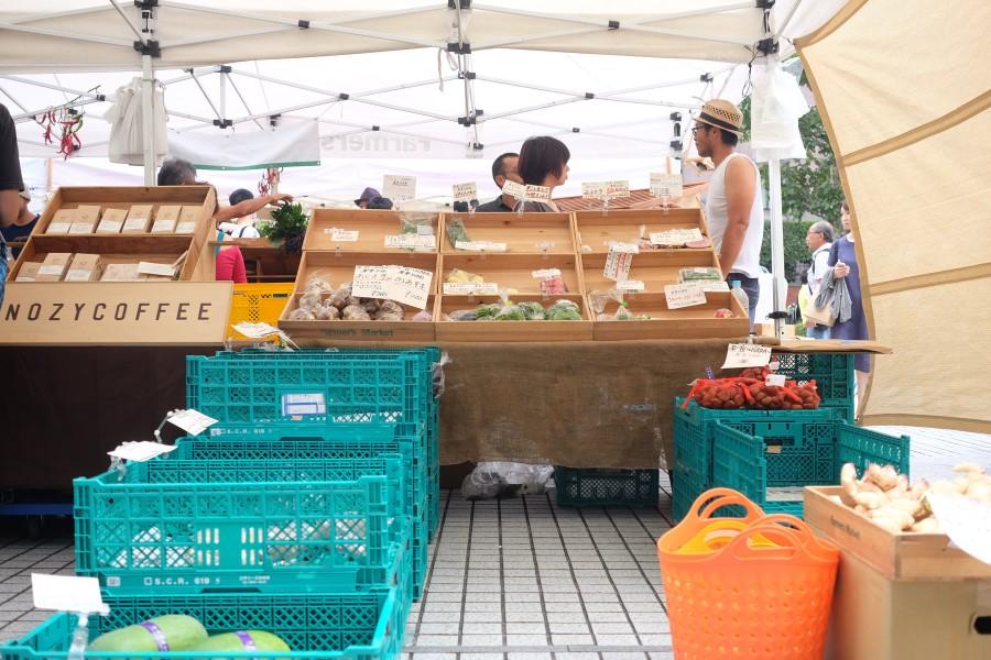青山ファーマーズマーケット 野菜屋さん